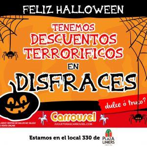 Halloween en Jugueterias Carrousel
