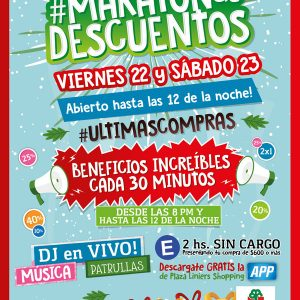 #MARATONdeDESCUENTOS | Viernes 22 y Sabado 23 hasta las 00:00hs!