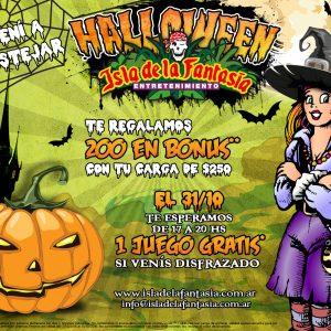 Halloween en Isla de la Fantasia