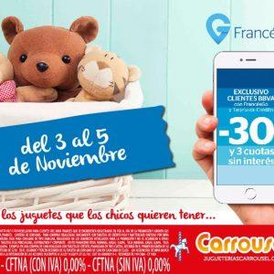 Promo Frances Go en Jugueterias Carrousel