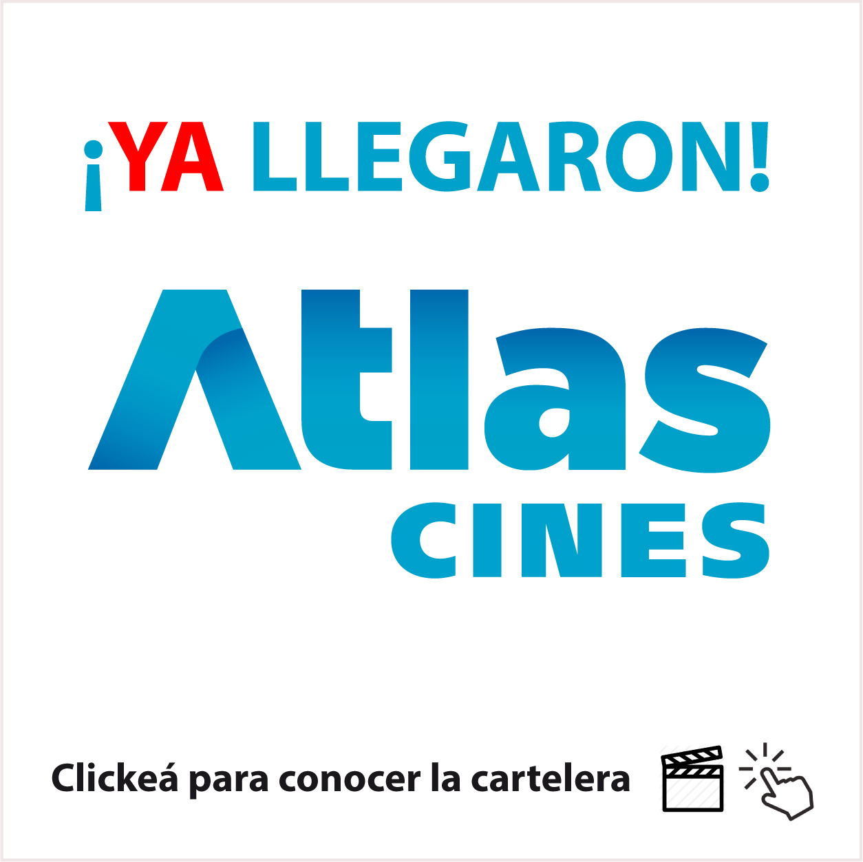 CARTELERA CINES ATLAS
