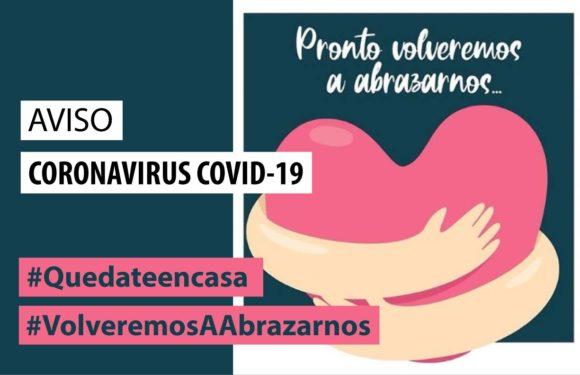 AVISO CORONAVIRUS COVID-19